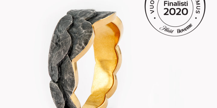 Vuoden kaunein sormus 2020 finalisti: Kultareunus